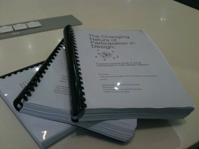 completed thesis