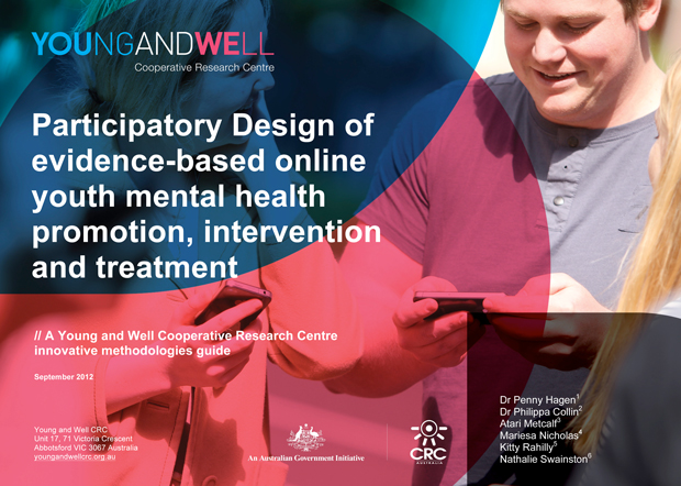 YAW CRC cover of the participatory design guide