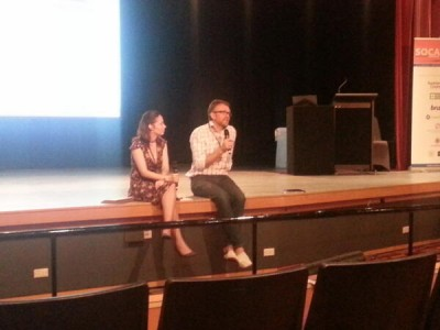 Natalie Nicholles and Nic Frances closing the SOCANZ conference